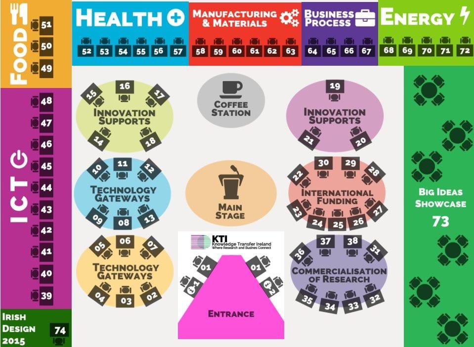 Innovation Showcase floorplan