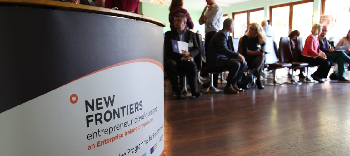 new frontiers entrepreneur startup support grant