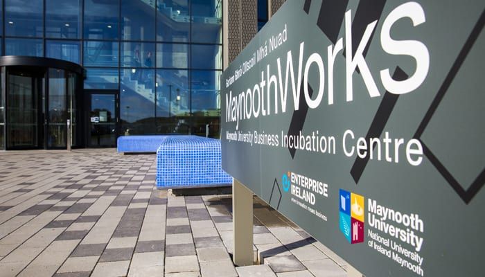 MaynoothWorks incubation startups New Frontiers