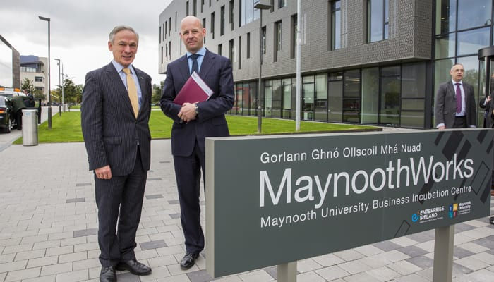 New Frontiers MaynoothWorks Minister Bruton Maynooth University
