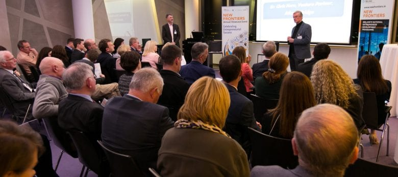 Dr Chris Horn & Audience at the DIT IADT New Frontiers Showcase