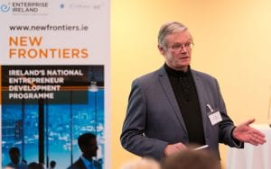 Dr Chris Horn at the DIT IADT New Frontiers Showcase