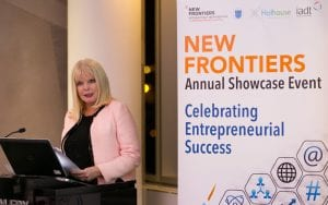 Minister MMOC at the DIT IADT New Frontiers Showcase