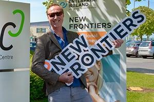 Bernard HAYES graduation New Frontiers programme Blancharsdtown