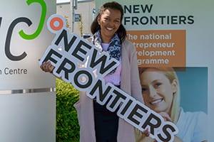 Chantel KANGOWA graduation New Frontiers programme Blancharsdtown