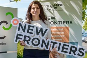 Derya SOUSA graduation New Frontiers programme Blancharsdtown