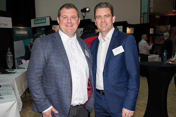 Joe Perrott, Remote Signals and Liam Fitzgerald, Programme Manager at the Rubicon Centre