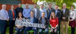 New Frontiers programme Blancharsdtown graduation group 2018