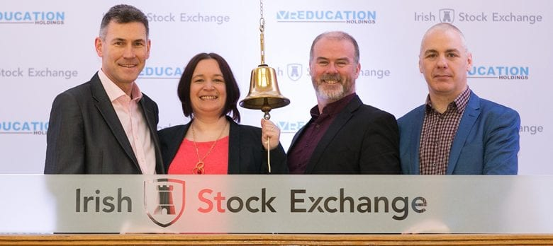 New Frontiers startup, Immersive VR Education, lists on Irish Stock Exchange