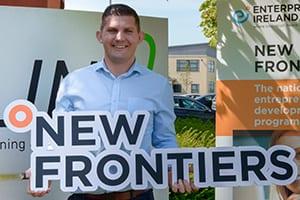 Noel McKEOWN graduation New Frontiers programme Blancharsdtown