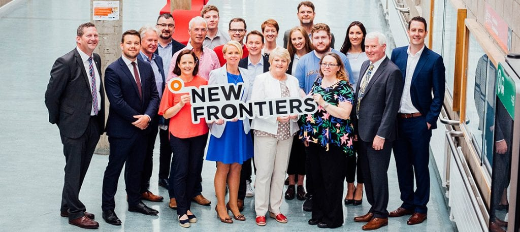 New Frontiers Team & Participants Limerick 2018