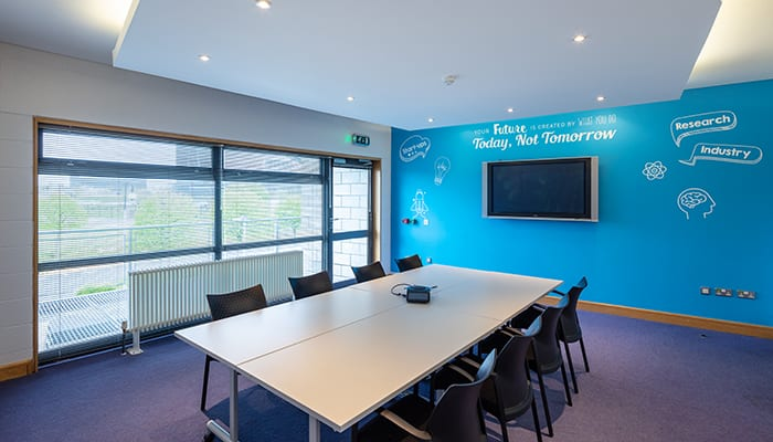 New Frontiers programme at Blanchardstown LINC meeting room