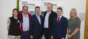 Eugene Crehan award winners New Frontiers showcase 2018 Waterford