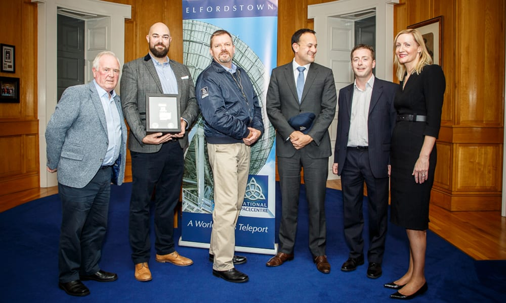 With Leo Varadkar Drone Consultants Ireland (DCI) wins Ireland ESNC