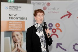 Paula Carroll, New Frontiers National Programme Manager at Enterprise Ireland