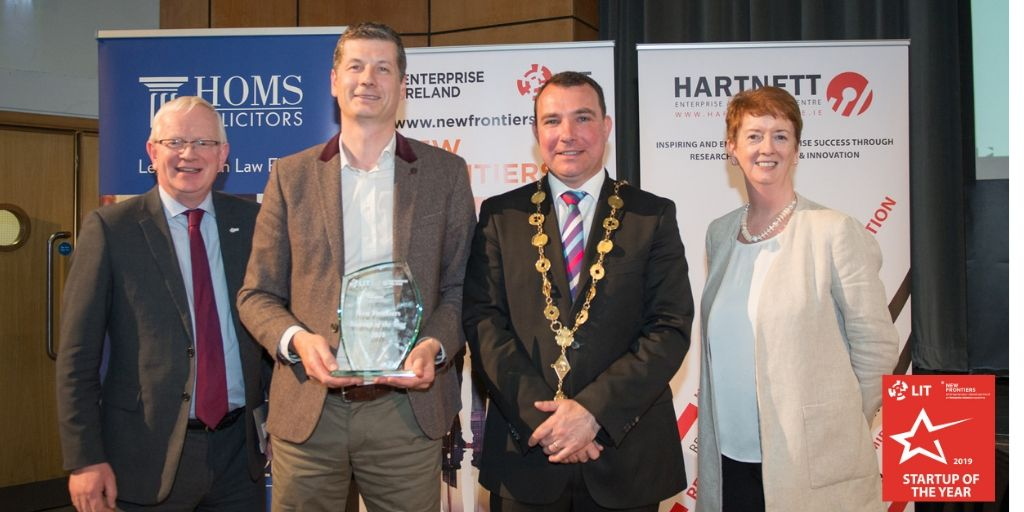 2019 Startup of the Year Ivan tuohy