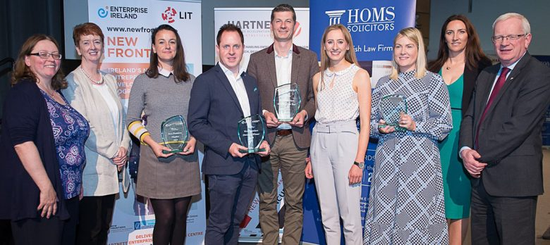 New Frontiers 2019 Annual Showcase winners at LIT Hartnett Centre