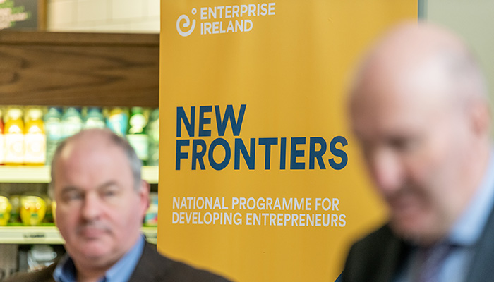 2019 New Frontiers Phase 2 Showcase Event in the Synergy Centre at TU Dublin.